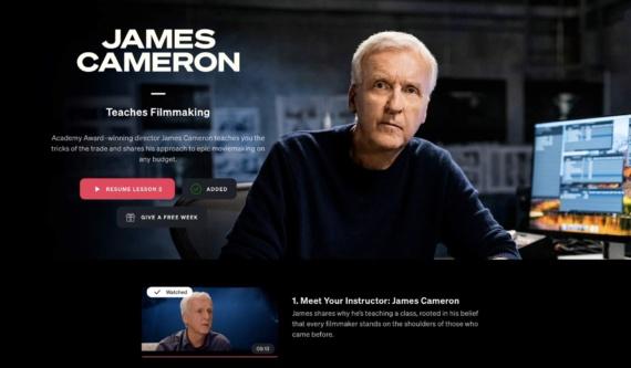 Cameron-masterclass
